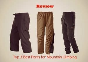 The Top 3 Best Pants for Climbing