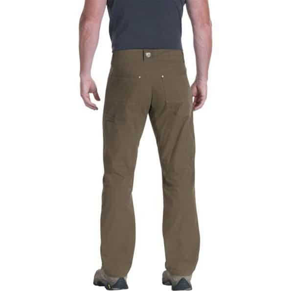 kuhl revolvr pants are made of the most comfortable and breathable fabric in the world - cotton